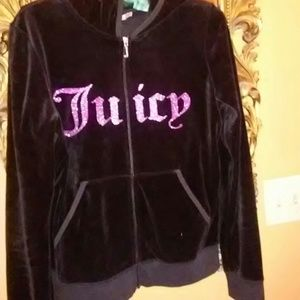 Juicy Couture zip hoodie